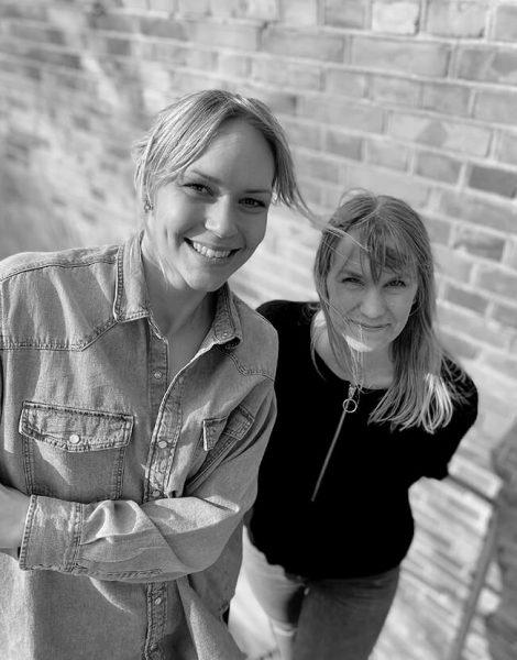 Lotta Larsdotter och Lovisa Elfving
